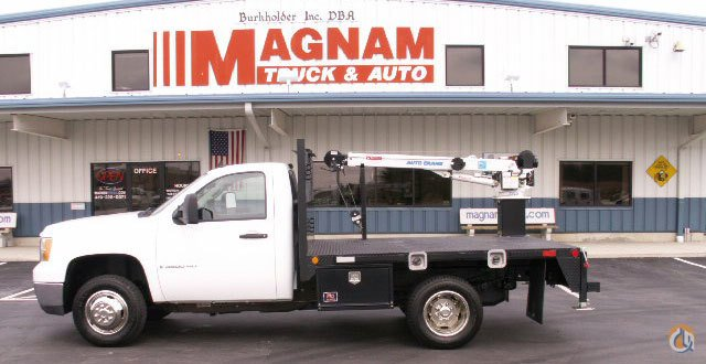 Sierra Auto Auction >> Sold Auto Crane 3203PRX Service Truck for 2009 GMC Sierra ...