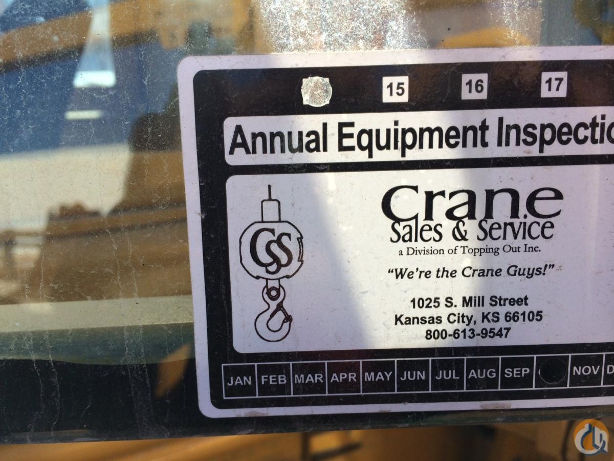 Overhead Crane Repair Kansas City : Sold ton yard crane for in kansas city on