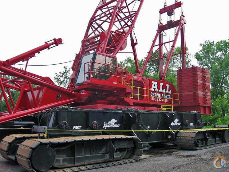 Manitowoc 21000 Crawler Lattice Boom Cranes Crane For Sale