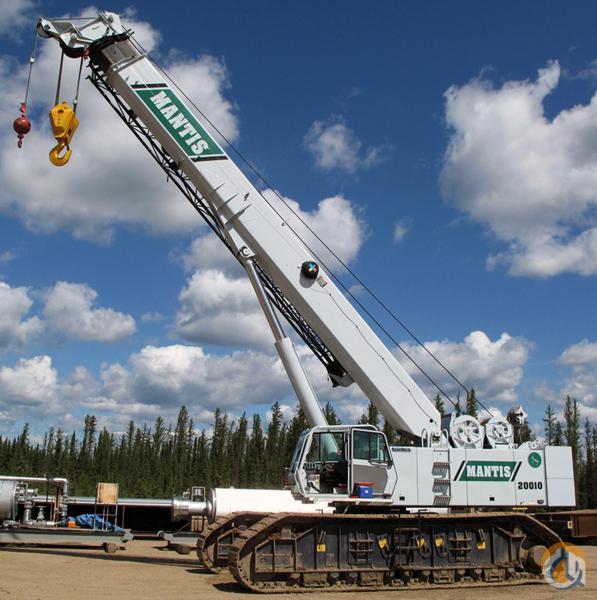 Telescopic Crane 200 Ton : Mantis crawler telescopic boom cranes crane for sale