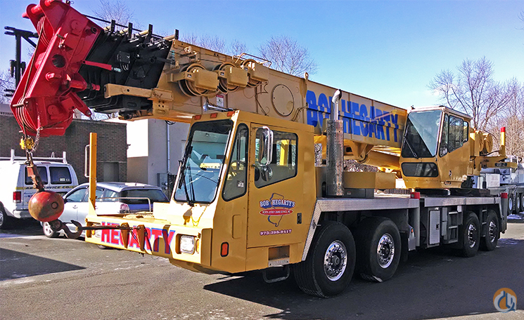 Overhead Crane New Jersey : Sold grove tts truck mounted telescopic boom cranes