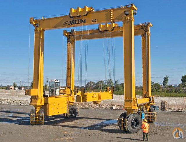 Jib crane rental : Ascom cls gantry cranes crane for sale