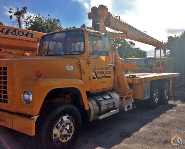 Sold National 6t56 Boom Truck For Sale Crane For In