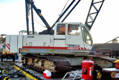 freecranespecs com terex american hc110 crane specifications load rh freecranespecs com Wheeled Excavator Terex Compact Track Loader