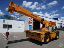 Galion Crane Specification Load Charts