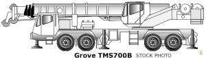 Grove TMS700B For Sale