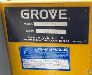 2006 Grove TMS800E slide 8