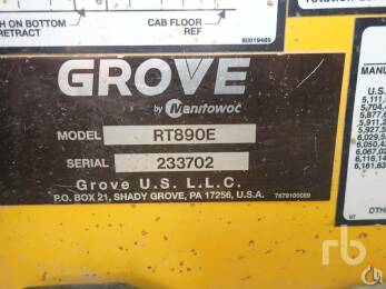 2013 Grove<BR />RT890 slide 6