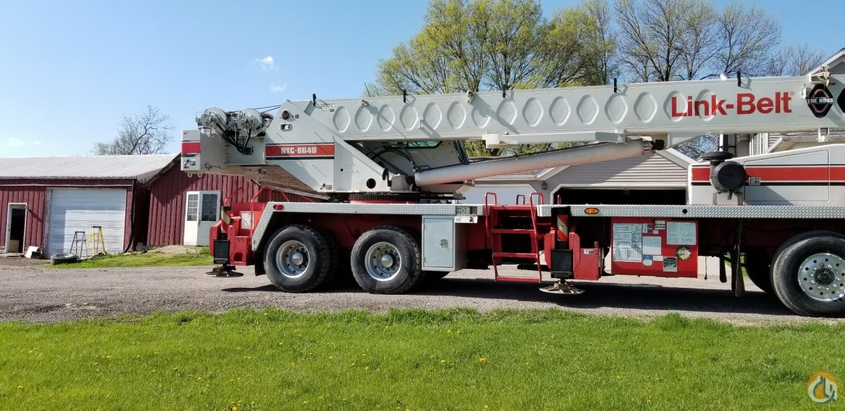 Sold 2003 Link-Belt HTC 8640HL Crane for  on CraneNetwork.com