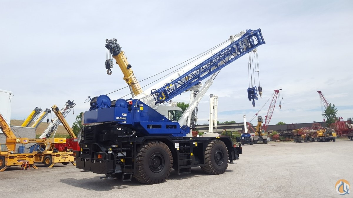 2015 Tadano GR750XL-2 Crane for Sale in Solon Ohio on CraneNetwork.com