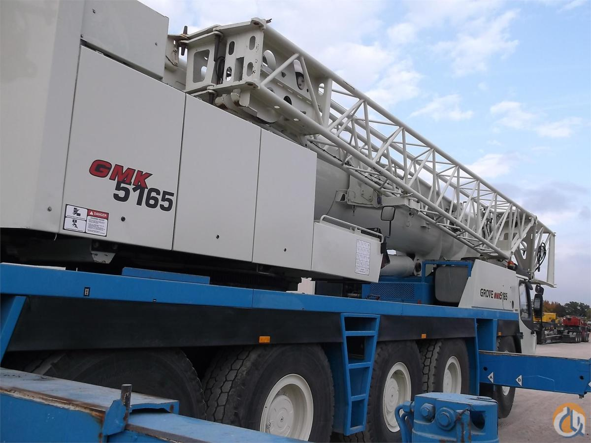 2006 Grove GMK5165 Crane for Sale or Rent in Lewisville Texas on CraneNetworkcom