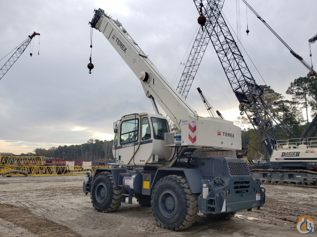 2012 TEREX RT-230 Crane for Sale or Rent in Savannah Georgia on CraneNetwork.com