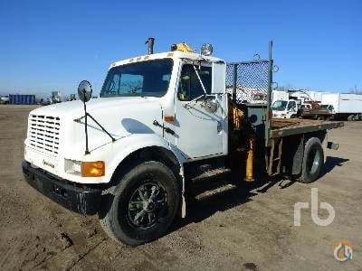 1992 INTERNATIONAL 4700 Crane for Sale in Caledon Ontario on CraneNetworkcom