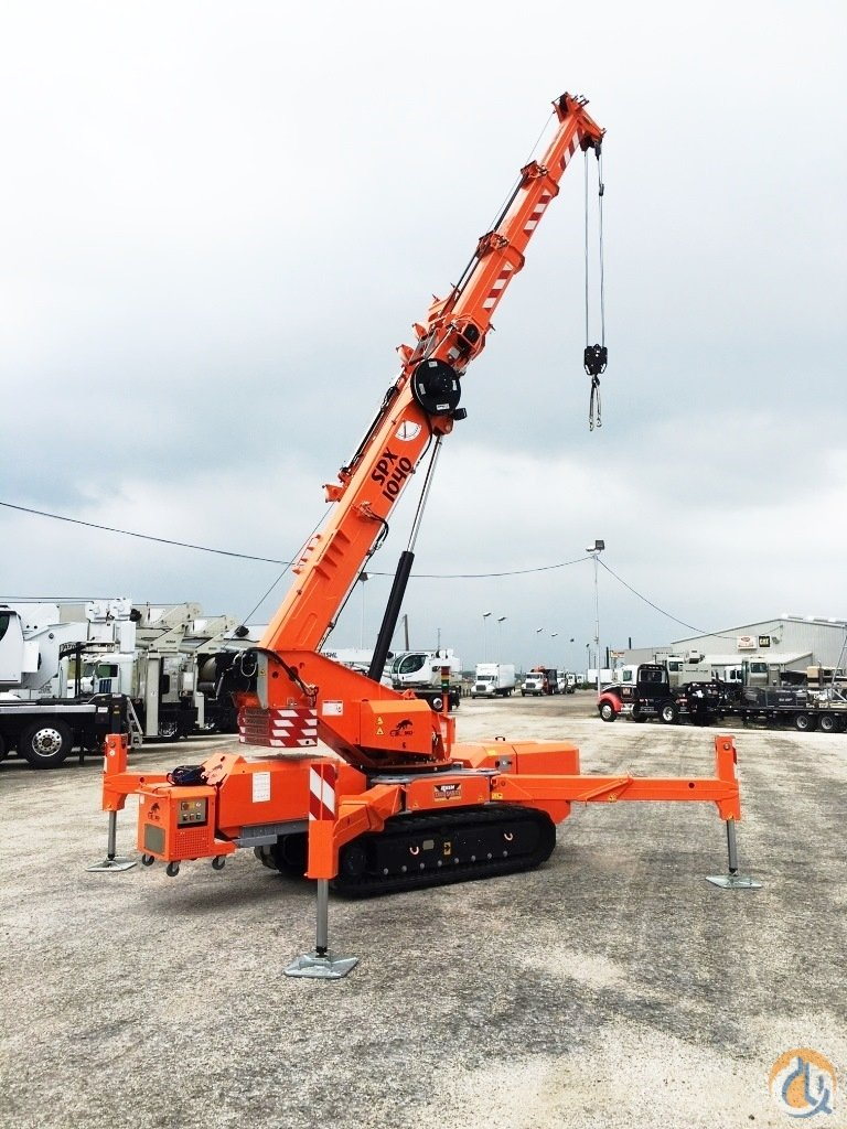 Jekko SPX1040 Crane for Sale or Rent in San Antonio Texas on CraneNetworkcom