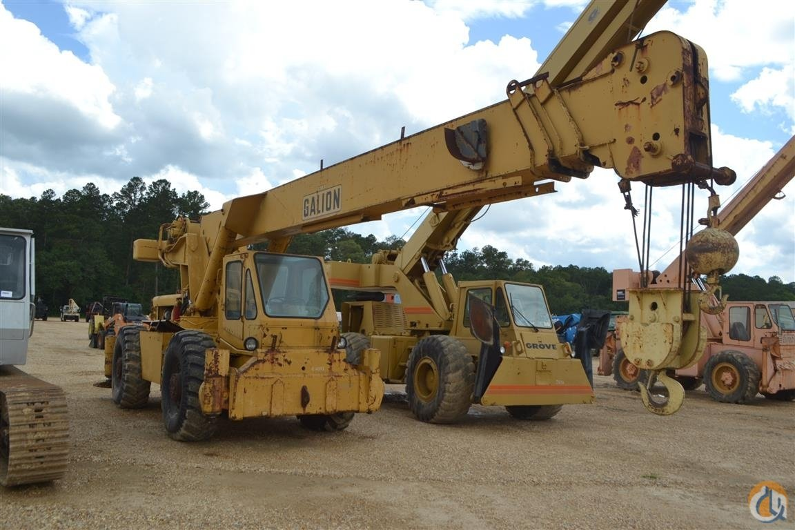 Sold GALION 220A ROUGH TERRAIN Crane for  in Livingston Louisiana on CraneNetwork.com