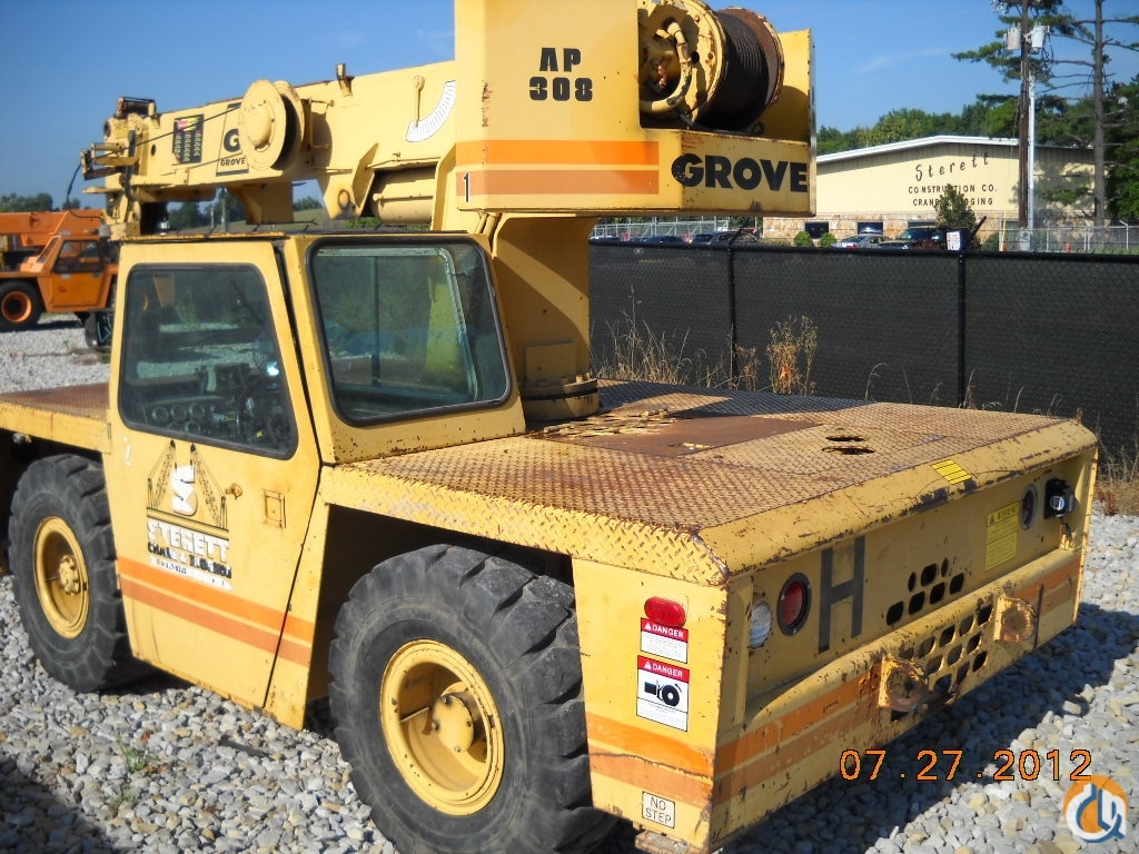 Grove AP308 Crane for Sale in Owensboro Kentucky on CraneNetworkcom