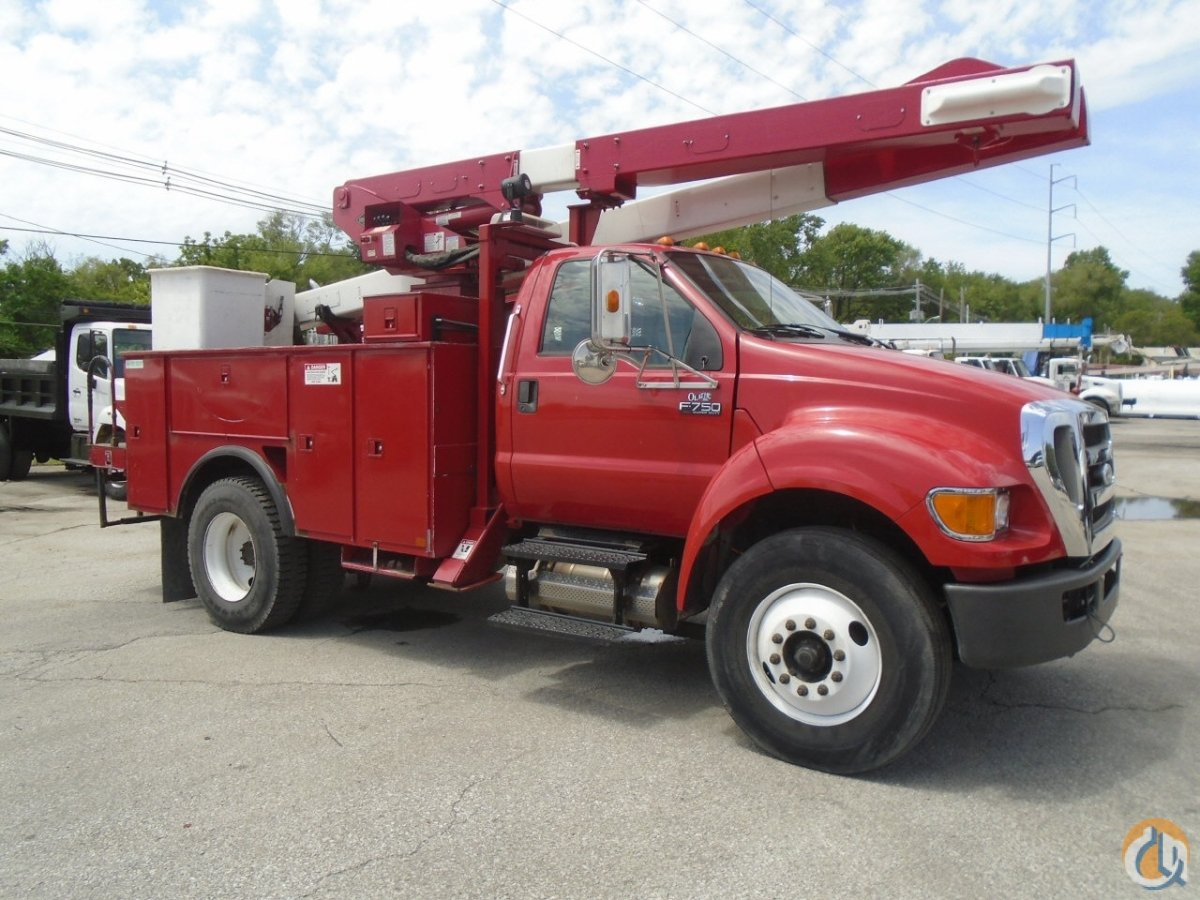 2007-2008 Versalift Bucket-Ford VO43I 400 Bucket Truck CranesList ID 341 Crane for Sale on CraneNetwork.com