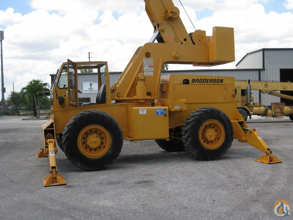 1999 Broderson RT300-2B Crane for Sale in Fort Pierce Florida on CraneNetwork.com