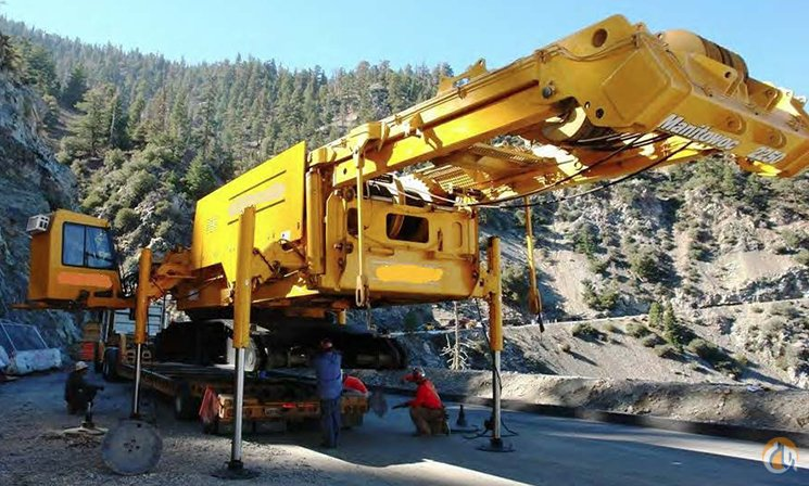 1998 Manitowoc 2250 III Crane for Sale or Rent in Las Vegas Nevada on CraneNetworkcom