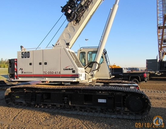 2014 LINK-BELT TCC500 Crane for Sale on CraneNetwork.com
