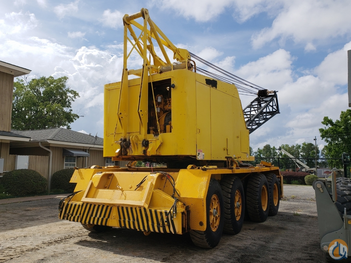 1989 LINK-BELT UC-108B Crane for Sale in Savannah Georgia on CraneNetwork.com