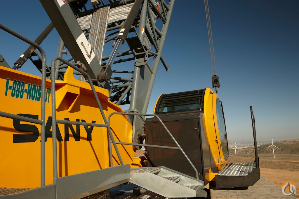2011 Sany SCC8300 Crane for Sale or Rent in Bridgeview Illinois on CraneNetworkcom