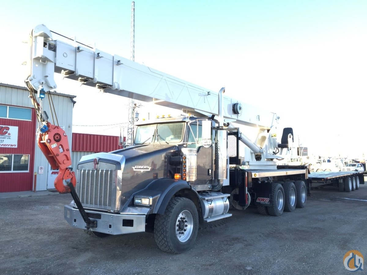2007 Altec AC38-103S Crane for Sale in Leduc Alberta on CraneNetwork.com