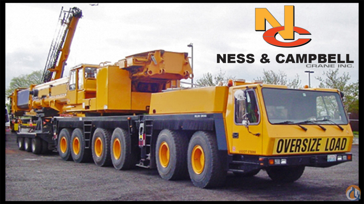 Grove GMK 6300B All Terrain Crane for Sale in Bothell Washington on CraneNetwork.com