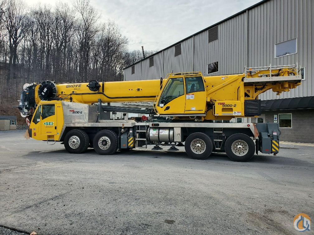 2018 Grove TMS9000-2 with Heavy Duty Jib Crane for Sale or