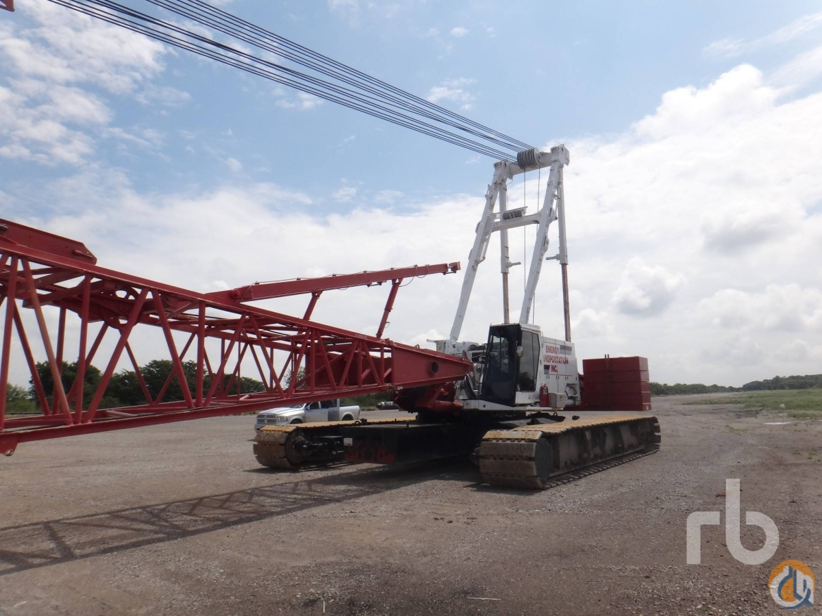 Sold 2001 MANITOWOC 2250 300 Ton Self-Erecting Crawler Crane Crane for  in Denver Colorado on CraneNetworkcom