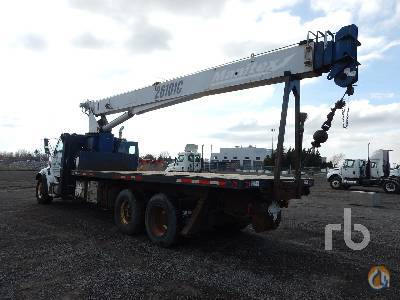 Sold 2004 STERLING L7500 TA wManitex 26101C 26 Ton Boom Truck Crane for  in Montreal Qubec on CraneNetworkcom
