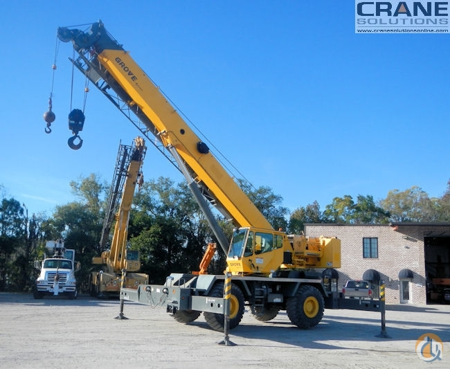 2011 Grove RT650E 50-Ton Rough Terrain Crane for Sale in Savannah Georgia on CraneNetwork.com