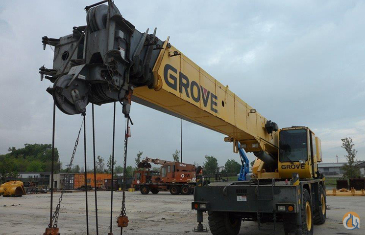 Grove RT535E Crane for Sale in Baton Rouge Louisiana on CraneNetwork.com