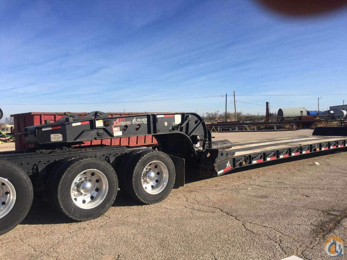 2016 XL Specialized 55 ton extendable Crane for Sale in Big Spring Texas on CraneNetwork.com
