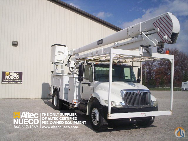 2005 Terex Hi-Ranger 5TC-55 Crane for Sale in Fort Wayne Indiana on CraneNetwork.com