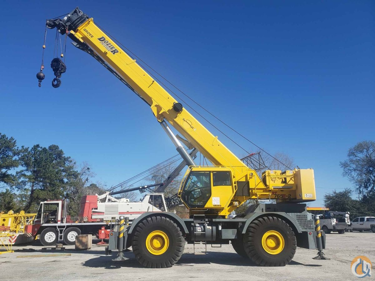 2012 GROVE RT-765E-2 Crane for Sale or Rent in Savannah Georgia on CraneNetwork.com