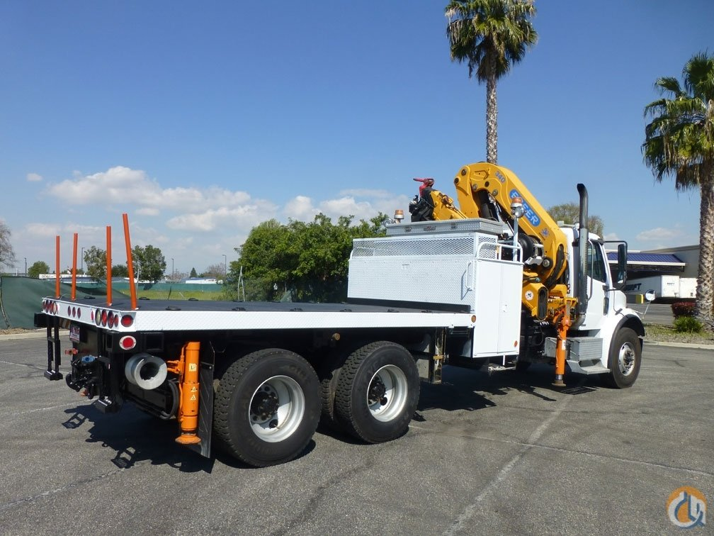 2006 Freightliner M2 112 Effer 340.014S 13 Ton Knuckle Boom Crane for Sale in Norwalk California on CraneNetwork.com