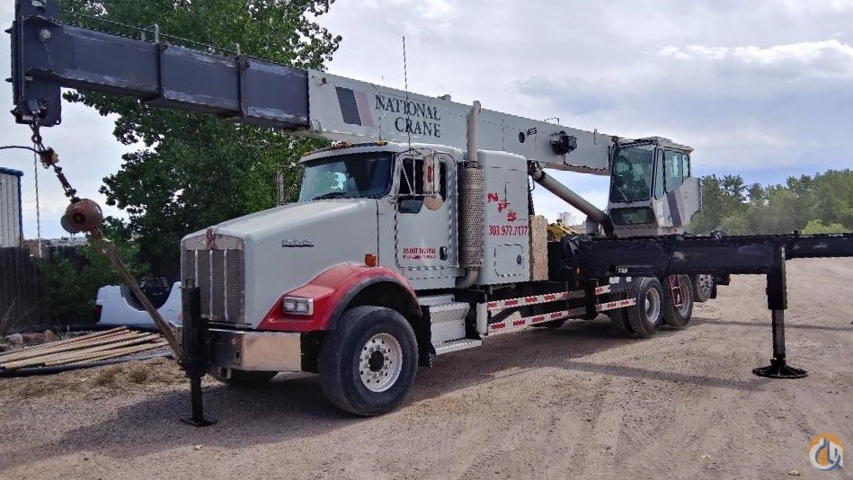 2007 National 1800 on Kenworth T800 Crane for Sale or Rent on CraneNetwork.com