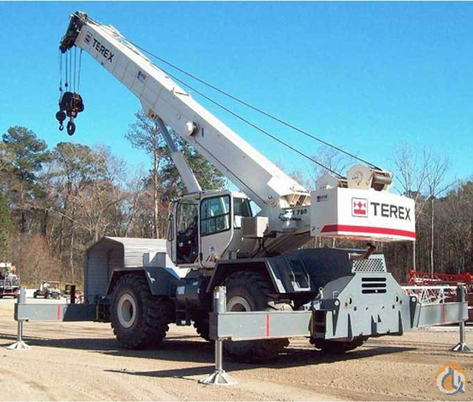 2008 Terex RT780 Crane for Sale in Lockport New York on