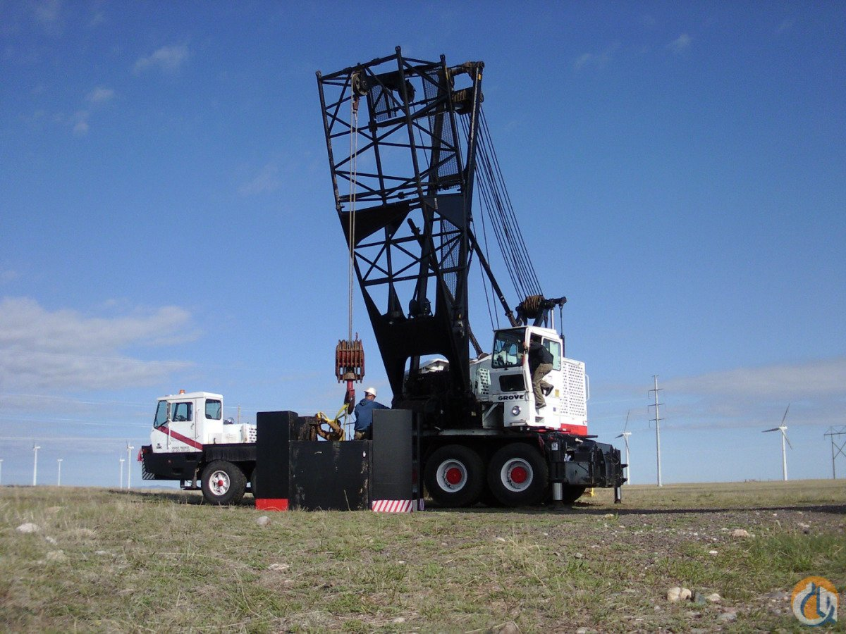 Grove HL 150T with luffer Crane for Sale in Sterling Colorado on CraneNetworkcom