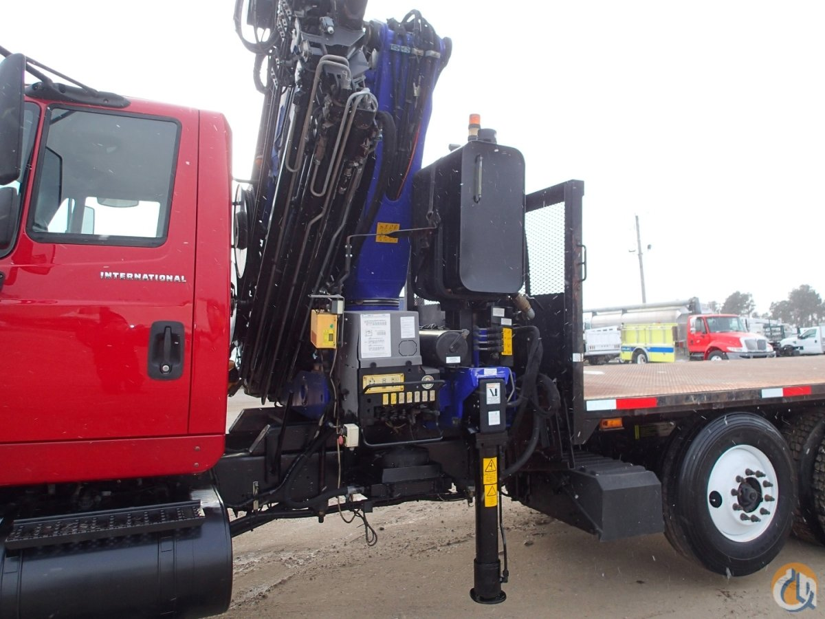 2005 INTERNATIONAL 7600 PM SERIES 34026 KNUCKLE CRANE Crane for Sale in Rice Minnesota on CraneNetworkcom