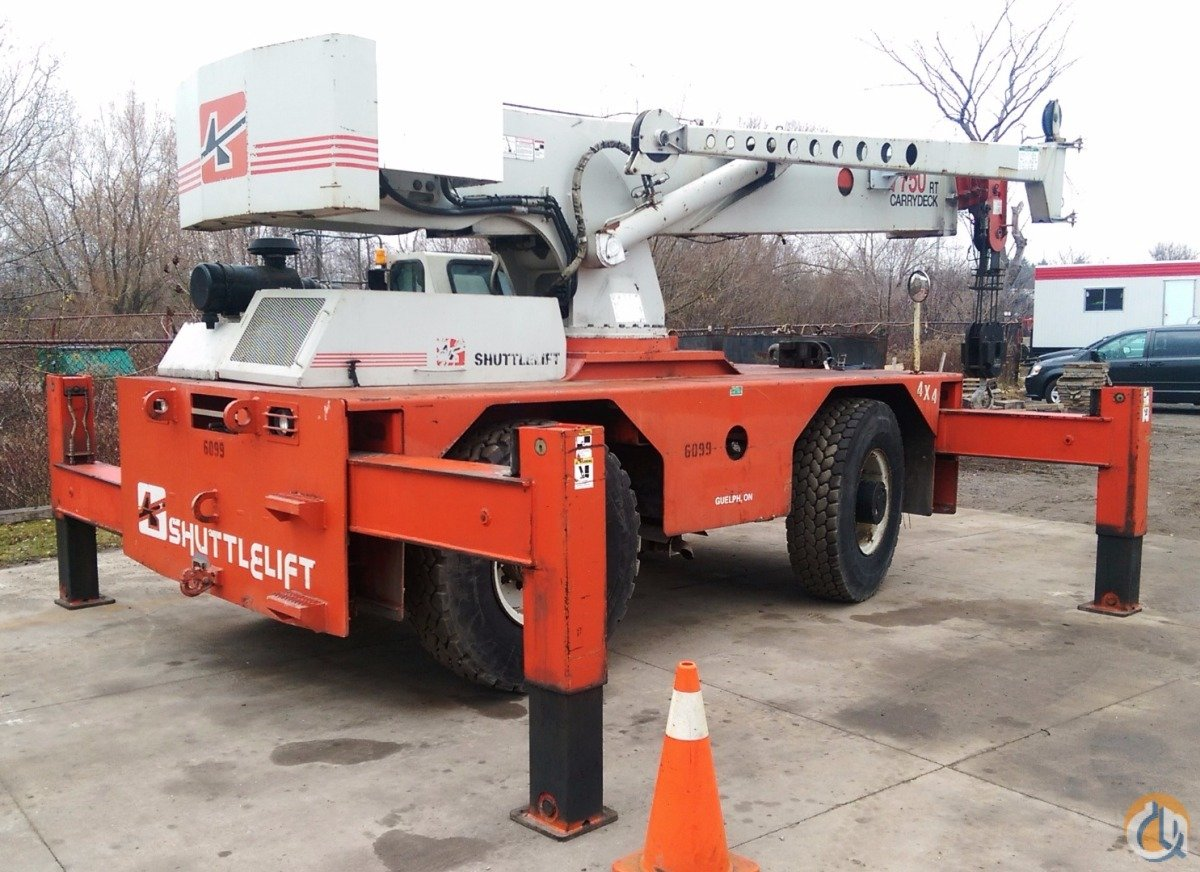 2004 SHUTTLELIFT 7750RT Crane for Sale in Oakville Ontario on CraneNetwork.com
