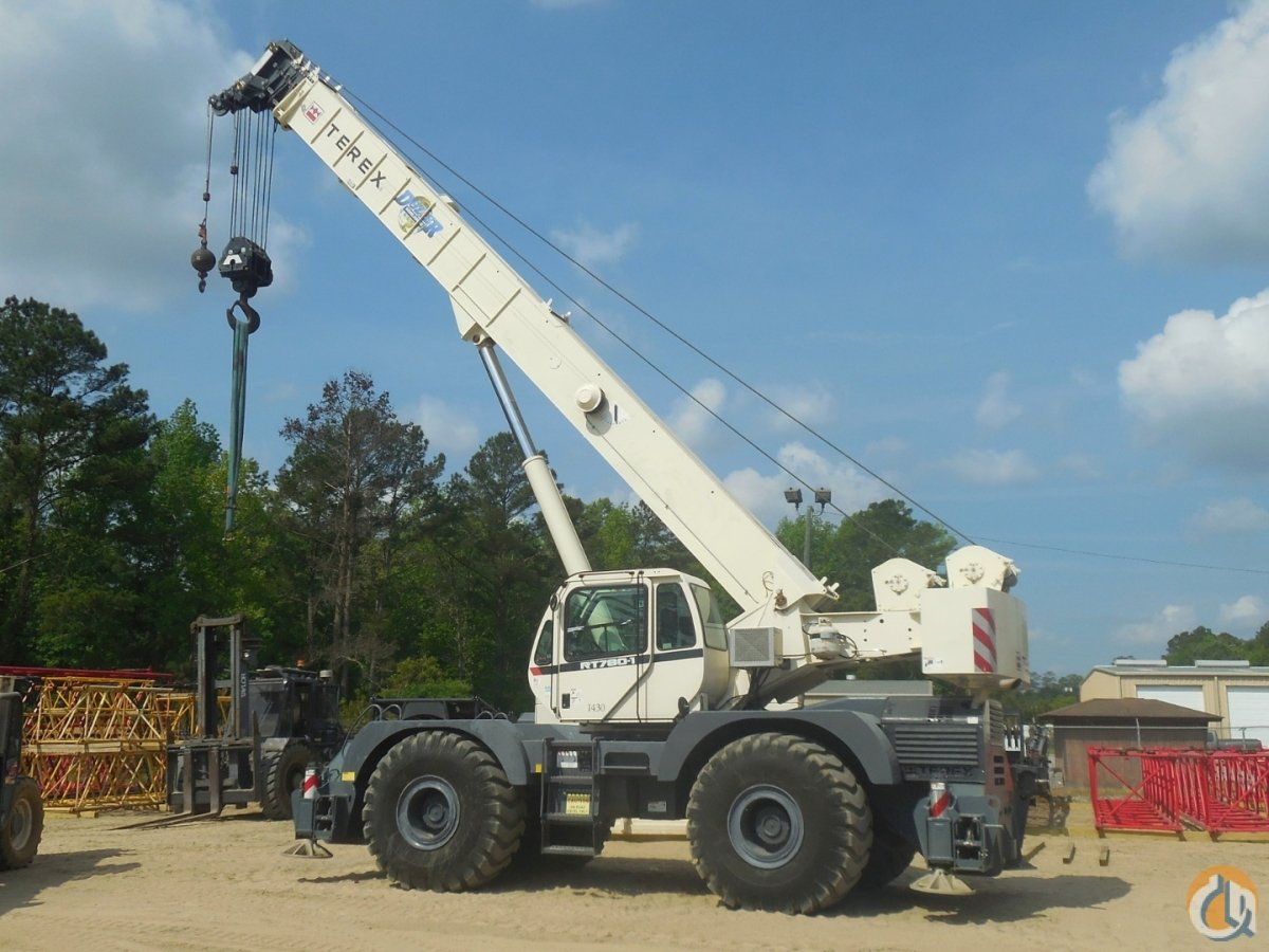 2012 TEREX RT-780 Crane for Sale or Rent in Savannah Georgia on CraneNetworkcom