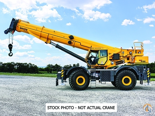 2019 Grove GRT8100 Crane for Sale in Shady Grove Pennsylvania on CraneNetwork.com