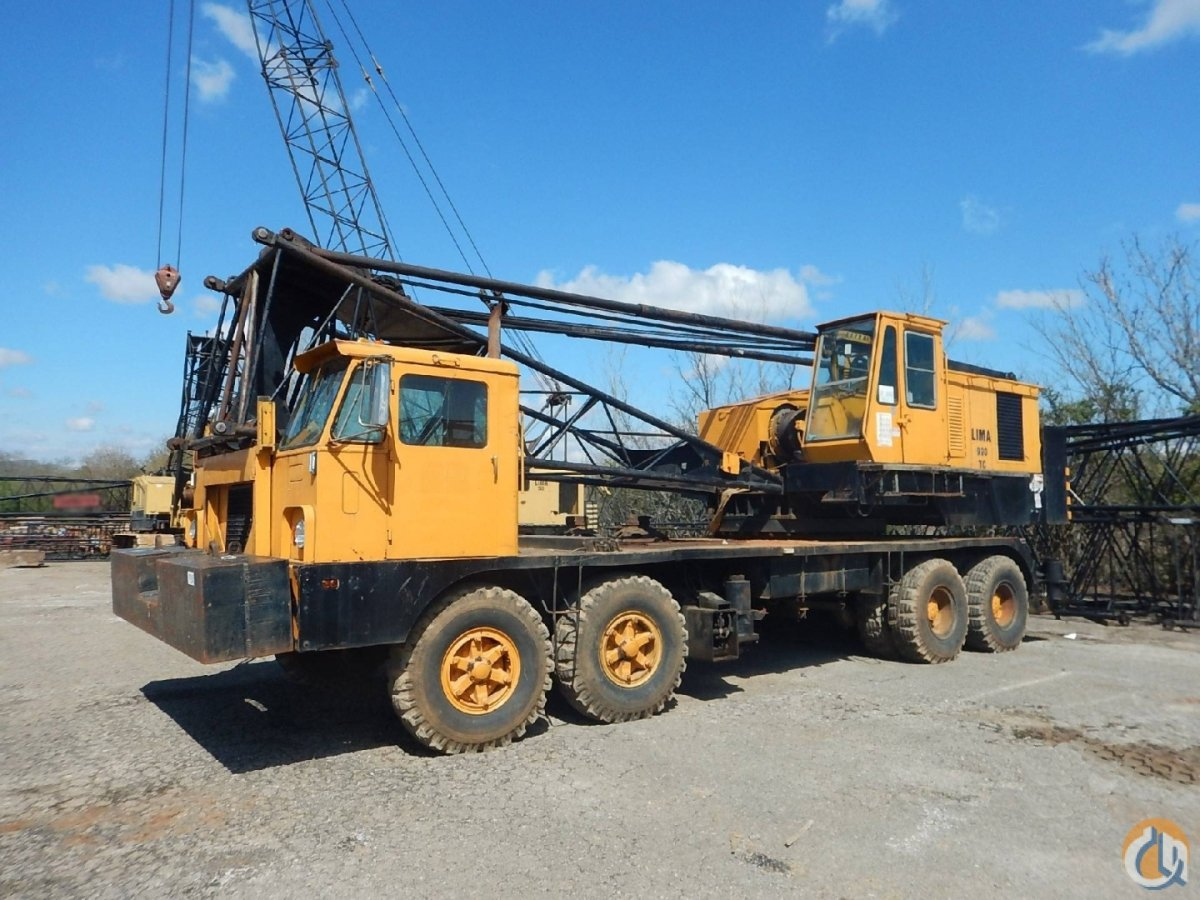 1973 LIMA 990TC Crane for Sale on CraneNetwork.com