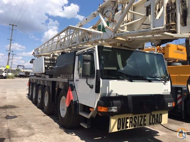 2002 Liebherr LTM 11002 - 120 ton all terrain crane Crane for Sale in Newark New Jersey on CraneNetwork.com