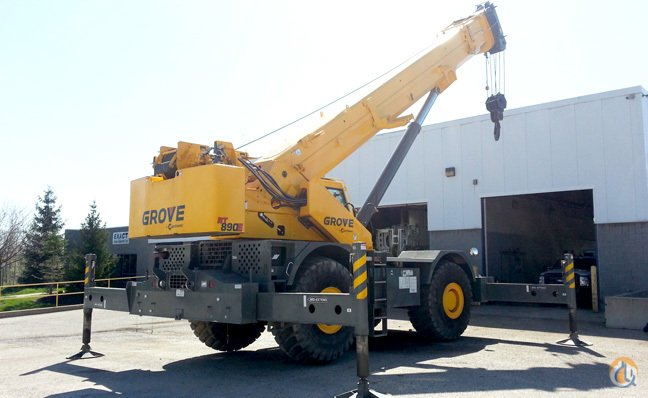 2012 Grove RT890E Crane for Sale in Cleveland Ohio on CraneNetworkcom