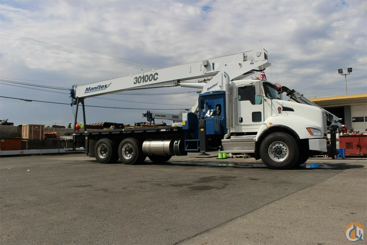 2021 MANITEX 30100C Crane for Sale in Sacramento California on CraneNetwork.com