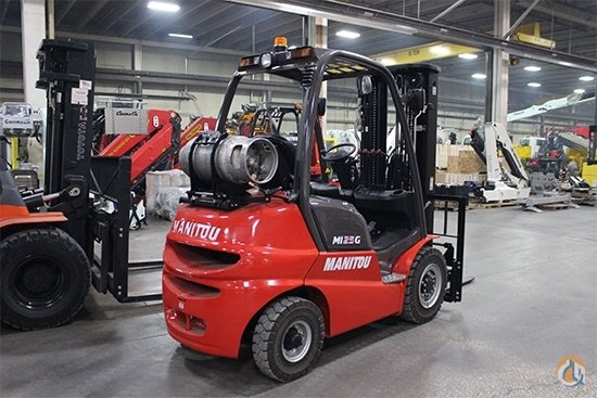 2018 Manitou MI 25G Crane for Sale in Olathe Kansas on CraneNetwork.com