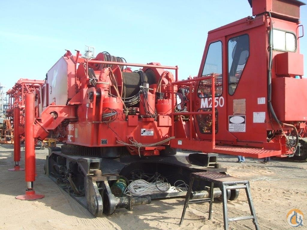 1997 M1200 RINGER 800 ton   M250 S-2 Crane for Sale on CraneNetworkcom